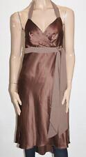UnderCoverWear Designer Chocolate Belinda Halter Dress Size 12 - M  BNWT #SK68