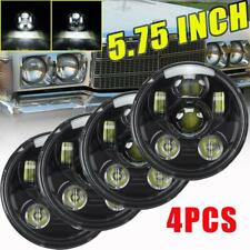 "4pc 5.75"" 5-3/4 Inch LED Projector Headlight H5001 H5006 For Chevrolet Chrysler"