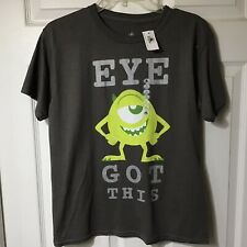 DISNEY BOYS SHORT SLEEVE TEE SHIRT, SIZE LARGE, NEW WITH TAGS $20