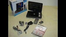 "CRAIG CTFT712 9"" SWIVEL SCREEN PORTABLE DVD PLAYER -NEW -LOOK!!"