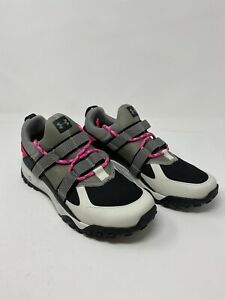 Under Armour Micro G  Running Shoe Size 10.5 Womens Gray Pink New Sneaker