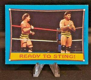 1987 Topps WWF Wrestling ✨Stars #62 Killer Bees (Ready to Sting). VG