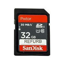 20pack SanDisk Pixtor 32GB SDHC Cards 30MB/s Class 10 UHS-1 Ultra SD Memory