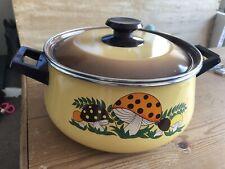 Merry Mushroom Pan Dutch Oven With Lid Saucepan 5 quart. Uk Seller