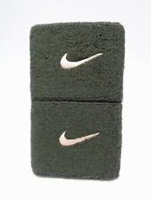 Nike Swoosh Singlewide Wristbands Sequoia/Washed Coral