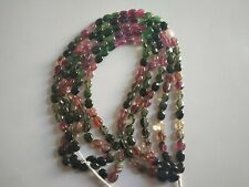 Tourmaline Oval Smooth Beads 1 Strand  Natural Gemstone 140 Cts Approx Lot