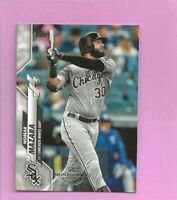 2020 Topps 582 Montgomery Club Foil Stamp #638 Nomar Mazara Chicago White Sox
