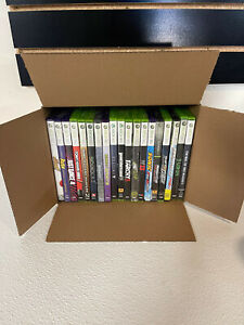 Xbox 360 Bundle Video Game Games Discs Only needs resurfaced #1