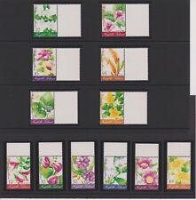 Norfolk Island Flowers Issue Set MNH Scott 767-778