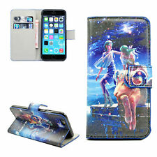 """Stand Aries Leather Soft TPU Card Flip Cover Case For Apple iPhone 6 4.7"""""""