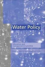 Water Policy: Allocation and management in practice-ExLibrary