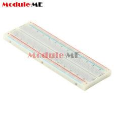 MB-102 MB102 Breadboard 830 Tie Point Solderless PCB BreadBoard For Arduino UK