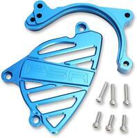 POWERSTANDS RACING CASE SAVER/SPRKT CVR BLUE 07-04153-25