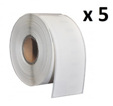 5 x Compatible Dymo 99012 White Large Address Labels 36 x 89mm (S0722400)