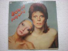 DAVID BOWIE PIN UPS RARE RCA VICTOR LP RECORD INDIA INDIAN press VG+