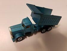 Tomica Blue American Dump Truck Diecast 1978 Clean!!