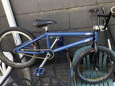CUSTOM HANDMADE HAND BUILT USA BMX BIKE W/ ODYSSEY WHEELS
