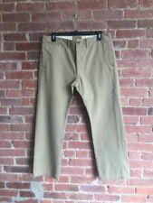 RRL oficial Chinos para hombre pantalones SZ 36 X 30, efecto vintage