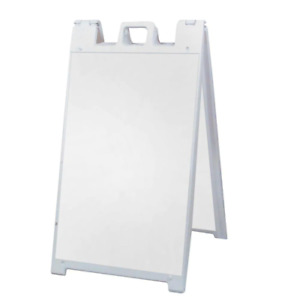 Signicade Business Sign 25 in. x 45 in. UV Resistant Single/Double Sided Metal