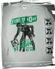 Sore Throat Shirt Napalm Death Heresy Doom Extreme Noise Terror Discharge Larm