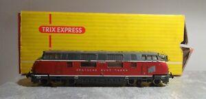 Trix Express 260 3Leiter Gleichstrom DB V200 035 läuft gebraucht mit OVP