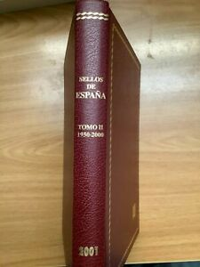 CATALOGO ESPECIALIZADO EDIFIL SELLOS ESPAÑA TOMO II - 1950/2000 EDICIÓN LUJO