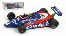 "Spark s1884 tyrrell 010 # 4 ""Candy"" 4th british gp 1980-Derek Daly, échelle 1/43,"