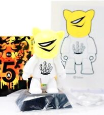 """Toy2r 3"""" Key Chain Qee Series 5a Mgee Right Kat TyGun Cactus Kidrobot Art Toy"""