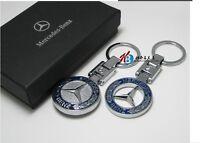 Original Llavero Metal nuevo - Mercedes Benz coche clase Amg CLS SLK GLE