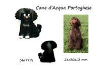 Llavero Piel Auténtica Cuero Perro D' Agua Portugués