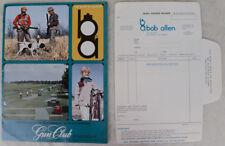 Bob Allen's Gun Club Sportswear Catalog Hunting Shooting Clothes Vintage