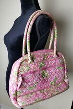 Vera Bradley Retired Petal Pink Bowler Bag
