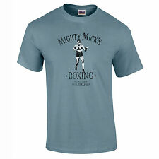 Mighty Micks Gym T Shirt Retro Cult Movie Rocky Inspired Boxing Premium Quality