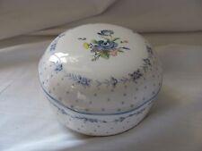 Nikko Blue Peony trinket powder candy box with lid Japan & nikko trinket in China \u0026 Dinnerware | eBay