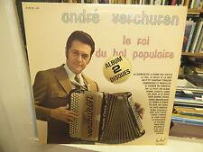 André Verchuren - le roi du bal populaire -double  albun festival 185