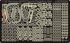 Alliance Model Works 1:35 German WWII Figure Detailing Set #LW35064