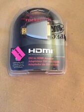 Lot of Three (3) - Rocketfish DVI-D-F to HDMI-F Adapter RF-G1173