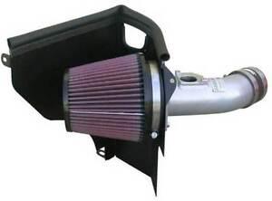 K & N 69 SERIES TYPHOON COLD AIR INTAKE INDUCTION KIT FOR SUBARU IMPREZA WRX STI