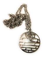STAR WARS DEATH STAR Full Metal Pendant force collectible cosplay us seller