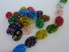 Lampwork Oval Jewellery Making Beads