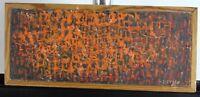 Bekannter, skandinavischer Künstler ,Ossler, Informelle Komposition, 1961