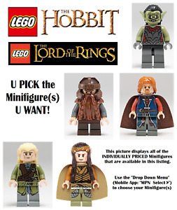 PG8027 Minifigur Hobbit Bogenschütze The Lor Of The Rings Goblin ORCS Legolas