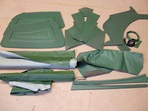 Classic MG TF assorted leather & vinyl trim   *NEW *