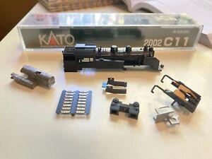 Kato 2002 C11 Body Shell + Parts
