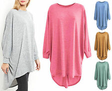 Unbranded Women's Scoop Neck Long Sleeve Jumpers & Cardigans