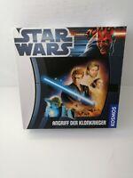 Star Wars Angriff der Klonkrieger von Kosmos Kinderspiel Brett Familie