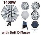 1400W Studio Video Fluorescent Continuous Light Lamps