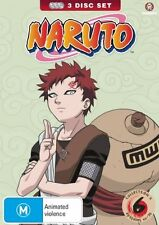 Naruto (Uncut) Collection 06 (Eps 66-78) (Slimpack) NEW R4 DVD