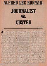 Custer vs. Runyan +Atwood,Baldwin,Bird,BlackKettle,Custer,Damon,Patee,Renoyan,
