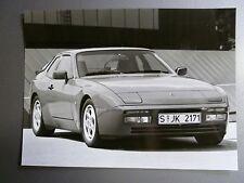 "1988 Porsche 944 Turbo Coupe B&W Press ""Werkfoto"" Photo Factory Issued RARE L@@K"